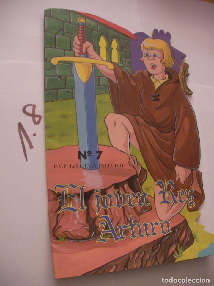 CUENTO INFANTIL - EL JOVEN REY ARTURO - ENVIO INCLUIDO A ESPAÑA (Libros Antiguos, Raros y Curiosos - Literatura Infantil y Juvenil - Cuentos)