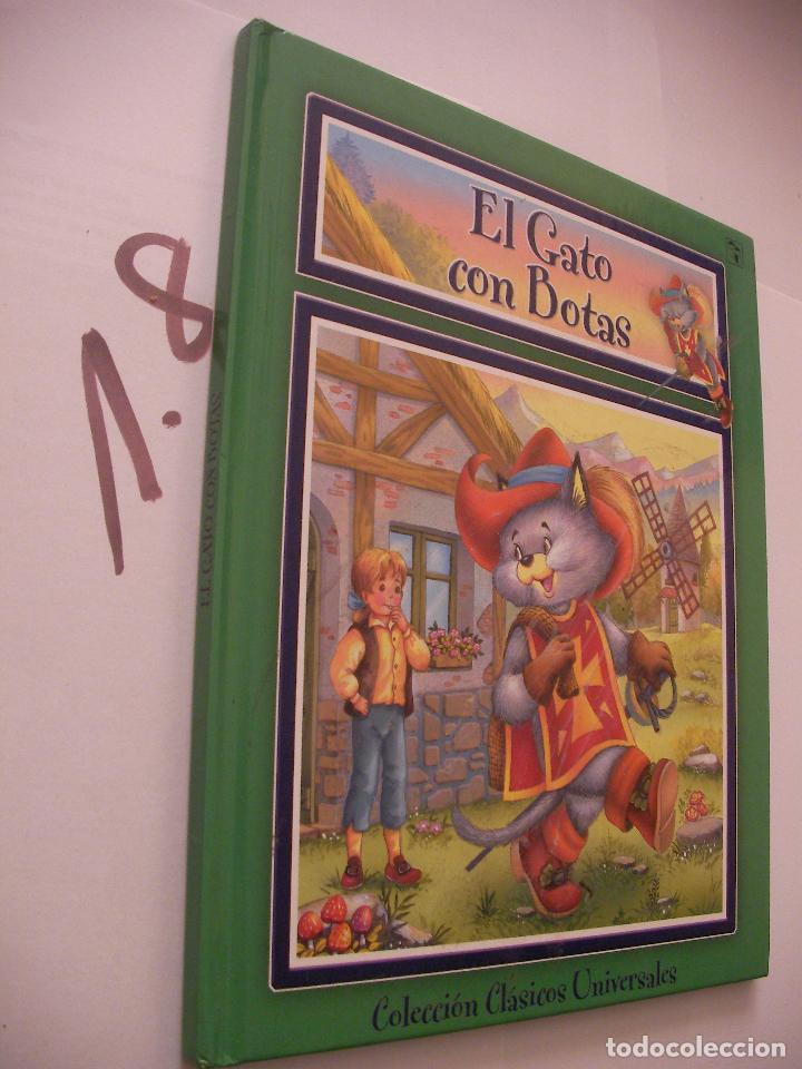 CUENTO INFANTIL - EL GATO CON BOTAS - ENVIO INCLUIDO A ESPAÑA (Libros Antiguos, Raros y Curiosos - Literatura Infantil y Juvenil - Cuentos)