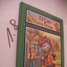 Libros antiguos: CUENTO INFANTIL - EL GATO CON BOTAS - ENVIO INCLUIDO A ESPAÑA. Lote 98003471