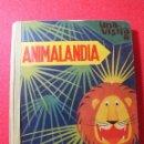 Libros antiguos: CUENTO ANTIGUO VISITA ANIMALANDIA BANCROFT CON ANIMALES EN MOVIMIENTO. Lote 98403459