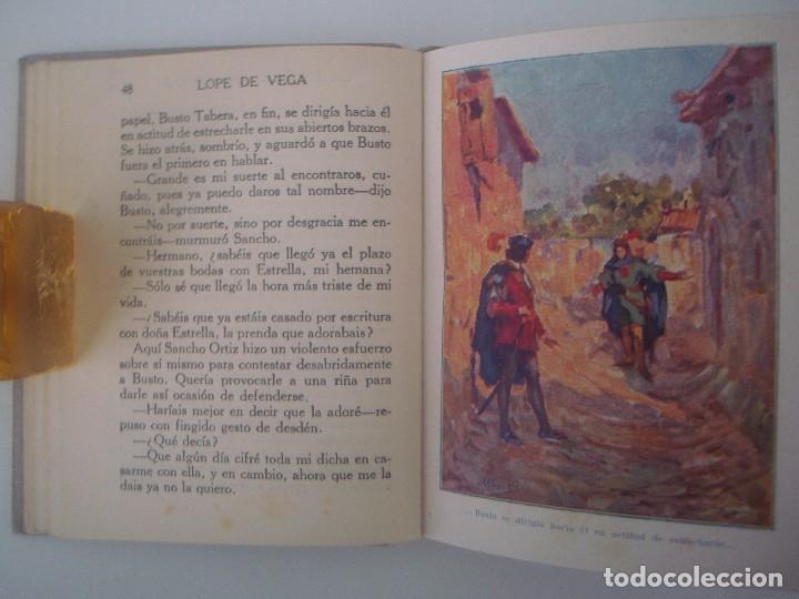 Libros antiguos: LIBRERIA GHOTICA. HISTORIAS DE LOPE DE VEGA. 1920. COLECCION ARALUCE. MUY ILUSTRADO. - Foto 2 - 98949779