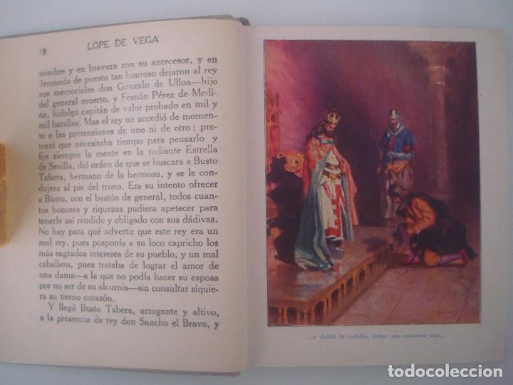 Libros antiguos: LIBRERIA GHOTICA. HISTORIAS DE LOPE DE VEGA. 1920. COLECCION ARALUCE. MUY ILUSTRADO. - Foto 3 - 98949779