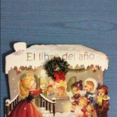 Libros antiguos: CUENTO TROQUELADO EL LIBRO DEL AÑO DE FERRANDIZ TEXTO Y DIBUJOS. Lote 139358313