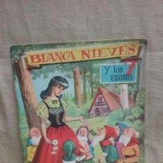 Libros antiguos: CUENTO BLANCANIEVES BLANCA NIEVES Y LOS 7 ENANITOS - GRANDES ALBUMES ALBUNES EVA - AÑO 1962. Lote 99384491