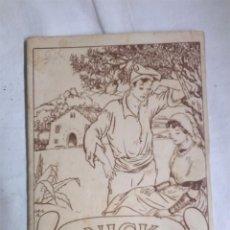 Libros antiguos: NICK CUENTO DE MEDIA NOCHET AÑO 30 ILUSTRACIONES LOLA ANGLADA, 29 PAG. Lote 99755343