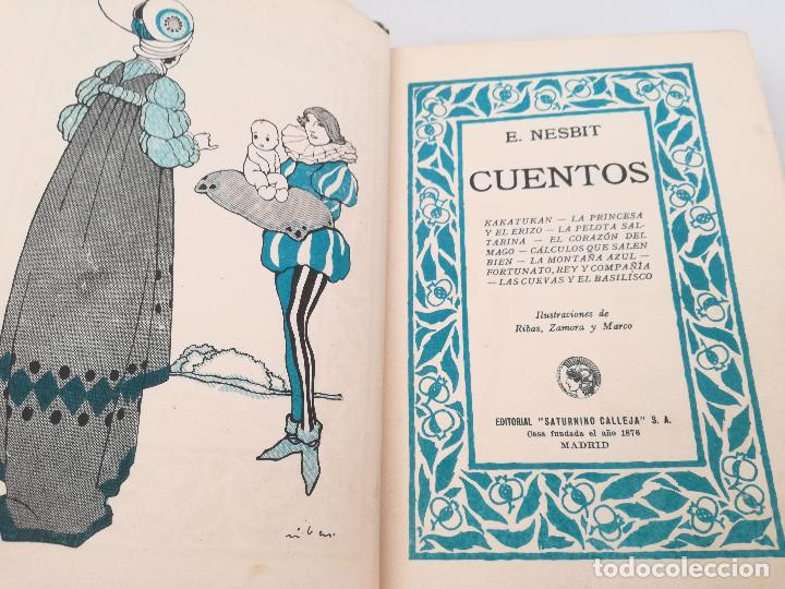 Libros antiguos: CUENTOS DE NESBIT - ILUSTRADO - EDITORIAL SATURNINO CALLEJA (AÑOS 20, CIRCA 1924) - Foto 3 - 99828967