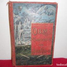 Libri antichi: OBRAS COMPLETAS DE JULIO VERNE TOMO VIII.-. Lote 100447271