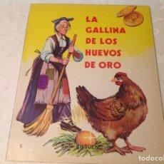 Libros antiguos: LA GALLINA DE LOS HUEVOS DE ORO. Lote 206595755