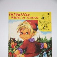 Libros antiguos: CUENTO TROQUELADO - PULGARCITO / INFANTILES MAISAL DE SIEMPRE - EDITORIAL MAISAL. Lote 100521195