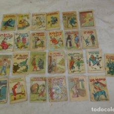 Libros antiguos: LOTE DE 25 PEQUENO ANTIGUO CUENTO DE CALLEJAS, CUENTOS ORIGINALES ANTIGUOS. Lote 101214235