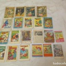Libros antiguos: LOTE DE 21 PEQUENO ANTIGUO CUENTO TIPO CALLEJAS, CUENTOS ORIGINALES ANTIGUOS. Lote 101214427