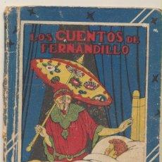 Libros antiguos: LOS CUENTOS DE FERNANDILLO. BIBLIOTECA ESCOLAR RECREATIVA XII. CALLEJA 103?.. Lote 101775683