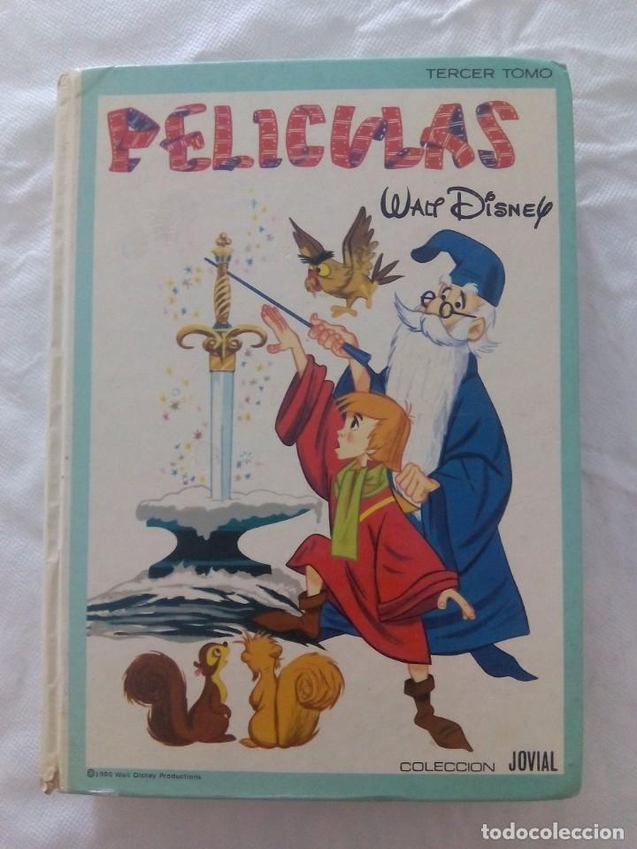 LIBRO PELÍCULAS WALT DISNEY 1980 (Libros Antiguos, Raros y Curiosos - Literatura Infantil y Juvenil - Cuentos)