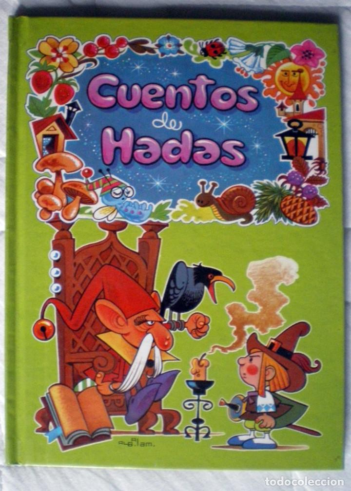 Libros antiguos: 4 libros 56 cuentos de hadas-1986 nuevos-Europa Ediciones 1-2-3-4 dibujos de Albarrán - Foto 4 - 193992601
