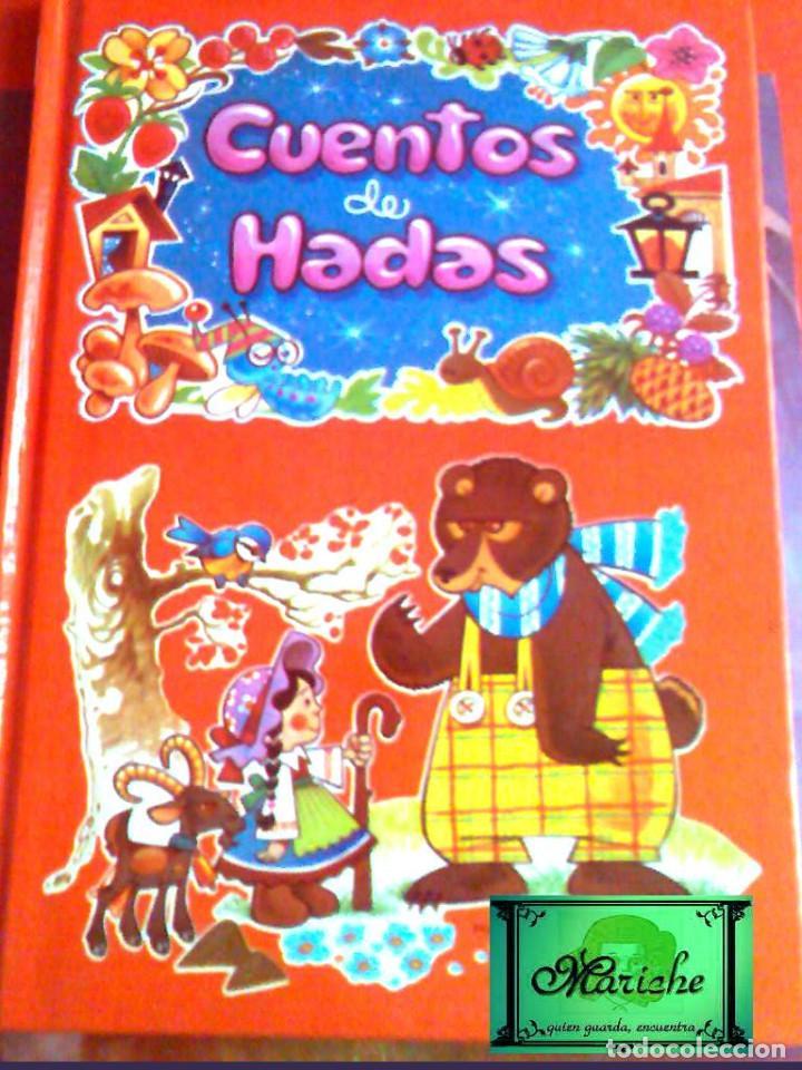 Libros antiguos: 4 libros 56 cuentos de hadas-1986 nuevos-Europa Ediciones 1-2-3-4 dibujos de Albarrán - Foto 5 - 193992601