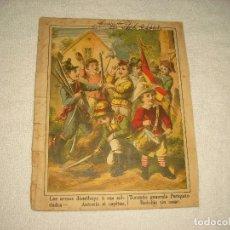 Libros antiguos: CUENTO ELABORADO CON 6 ANTIGUAS LAMINAS. Lote 102838875