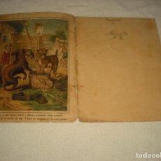 Libros antiguos: CUENTO ELABORADO CON 6 ANTIGUAS LAMINAS. Lote 102839195