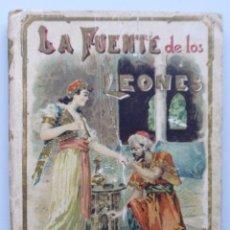 Libros antiguos: LA FUENTE DE LOS LEONES. MÁS VALE IGNORARLO // CALLEJA // ILUSTRACIONES DE GROS Y PEREA. Lote 102973215