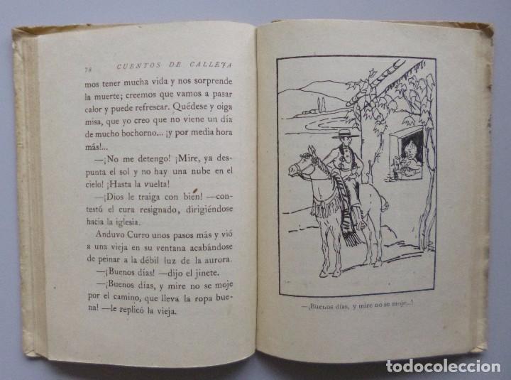 Libros antiguos: EL NARRADOR INFANTIL // CUENTOS DE CALLEJA // ILUSTRACIONES DE ROBLEDANO // RARO - Foto 3 - 102975019