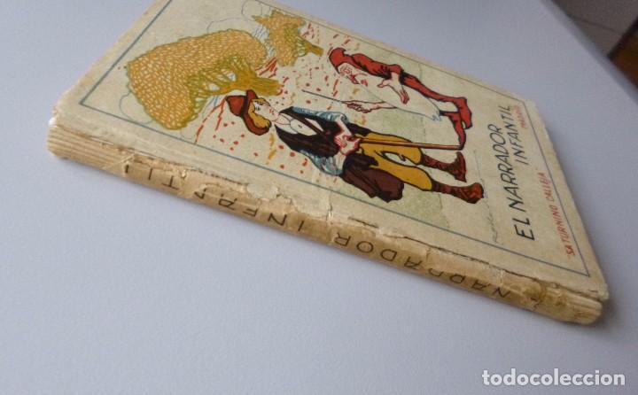 Libros antiguos: EL NARRADOR INFANTIL // CUENTOS DE CALLEJA // ILUSTRACIONES DE ROBLEDANO // RARO - Foto 5 - 102975019