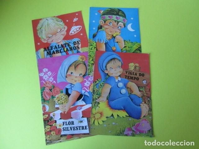 LOTE DE 4 LIBROS CUENTOS ILUSTRACIONES DE MAGDA EN PORTUGUÊS NUEVOS (Libros Antiguos, Raros y Curiosos - Literatura Infantil y Juvenil - Cuentos)