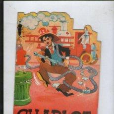 Libros antiguos: CUENTOS TROQUELADOS TELEDIBUJOS .CHARLOT ASPIRANTE A BOMBERO Nº 5 1974 BUBBLES INC. S.A.EUREDIT .SA. Lote 104072571