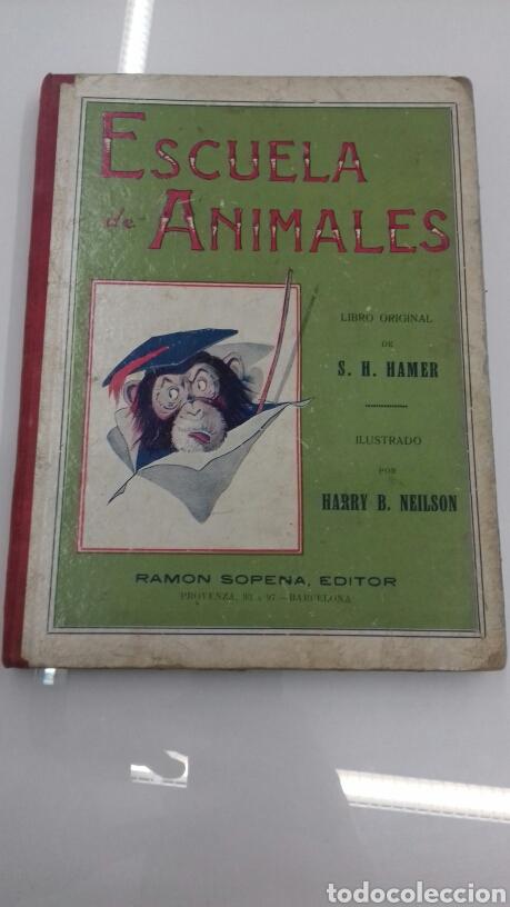 ESCUELA DE ANIMALES S.H. HAMER MAGNIFICAS ILUSTRACIONES H.B. NEILSON SOPENA EDITOR 1917 1° EDICION (Libros Antiguos, Raros y Curiosos - Literatura Infantil y Juvenil - Cuentos)