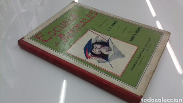 Libros antiguos: ESCUELA DE ANIMALES S.H. HAMER MAGNIFICAS ILUSTRACIONES H.B. NEILSON SOPENA EDITOR 1917 1° EDICION - Foto 2 - 104295432
