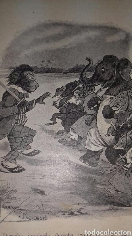 Libros antiguos: ESCUELA DE ANIMALES S.H. HAMER MAGNIFICAS ILUSTRACIONES H.B. NEILSON SOPENA EDITOR 1917 1° EDICION - Foto 7 - 104295432