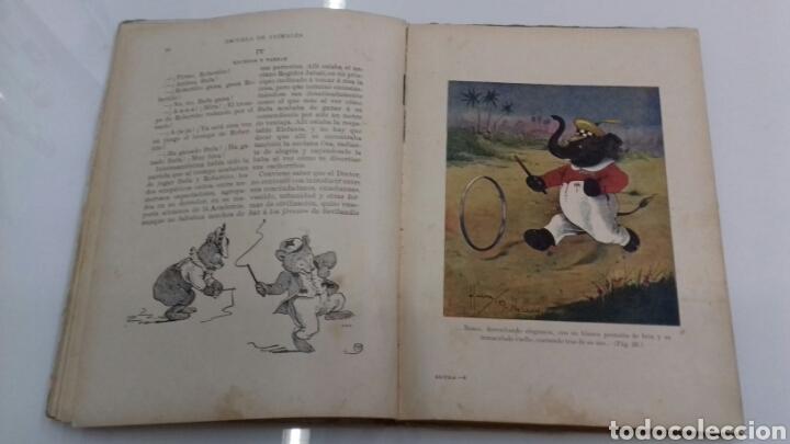 Libros antiguos: ESCUELA DE ANIMALES S.H. HAMER MAGNIFICAS ILUSTRACIONES H.B. NEILSON SOPENA EDITOR 1917 1° EDICION - Foto 8 - 104295432