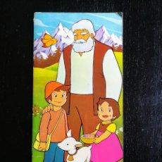 Libros antiguos: ANTIGUO PRECIOSO GRAN CUENTO DE HEIDI Y COPITO DE NIEVE - CREACIONES ESPECIALIZADAS DE ARTES GRAFICA. Lote 104509975