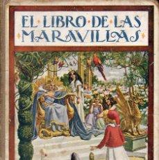 Libros antiguos - EL LIBRO DE LAS MARAVILLAS (SOPENA, 1931) - 105354711
