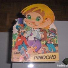 Libros antiguos: CUENTOS TROQUELADOS FHER. PINOCHO. . Lote 105736683