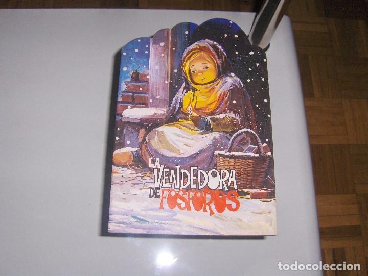 DIFICIL! TROQUELADO LA VENDEDORA DE FÓSFOROS EDIT. DALMAU SOCIAS (Libros Antiguos, Raros y Curiosos - Literatura Infantil y Juvenil - Cuentos)