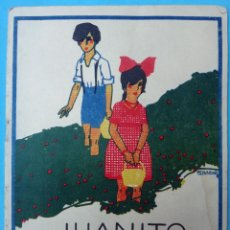 Alte Bücher - CUENTO JUANITO Y MARGARITA , GRANDE, CALLEJA , PORTADA PENAGOS, ORIGINAL - 106229483