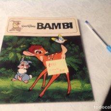 Libros antiguos: BAMBI , WALT DISNEY . Lote 106969515