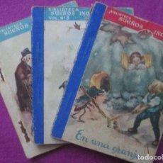 Libros antiguos: LOTE 3 CUENTOS SUEÑOS INOCENTES, VER FOTOS ADICIONALES DE LOS CUENTOS. Lote 107126815