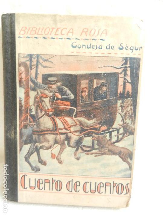 CUENTO DE CUENTOS POR LA SEÑORA CONDESA DE SÉGUR ILUST. DE VINTRÓ 3ª ED. LIB. RELIGIOSA 1926. (Libros Antiguos, Raros y Curiosos - Literatura Infantil y Juvenil - Cuentos)