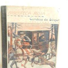 Libros antiguos: CUENTO DE CUENTOS POR LA SEÑORA CONDESA DE SÉGUR ILUST. DE VINTRÓ 3ª ED. LIB. RELIGIOSA 1926. . Lote 107247983