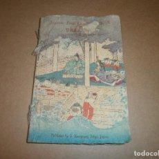 Libros antiguos: LIBRO IMPRESO TELA URASHIMA LE PETIT PECHEUR JAPANESE FAIRY TALE SERIES Nº 8. HASEGAWA TOKIO JAPON. Lote 107286547