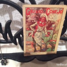 Libros antiguos: CUENTO DE SATURNINO CALLEJA - GUISADO DE CONEJO. Lote 107443003
