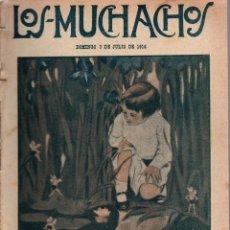 Libros antiguos: LOS MUCHACHOS. SEMANARIO CON REGALOS Nº 113. DOMINGO 9 DE JULIO DE 1916.. Lote 107595827