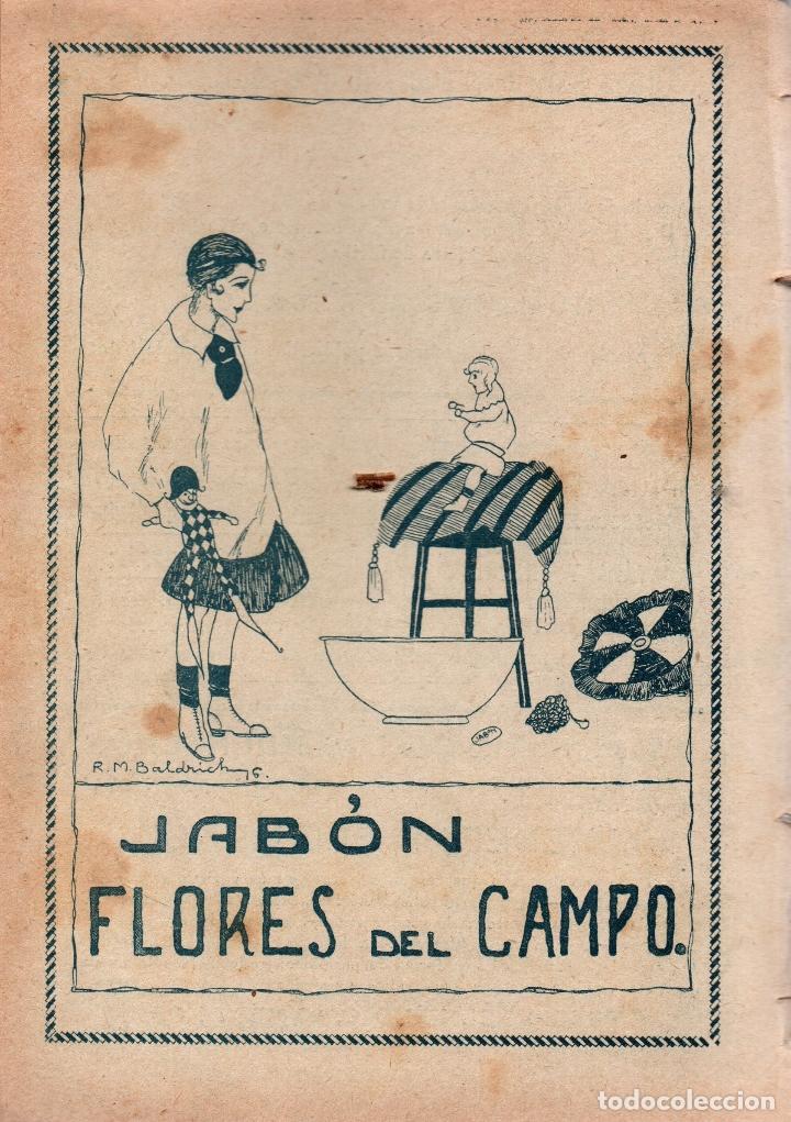 Libros antiguos: LOS MUCHACHOS. SEMANARIO CON REGALOS Nº 113. DOMINGO 9 DE JULIO DE 1916. - Foto 3 - 107595827