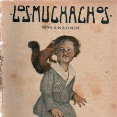 Libros antiguos: LOS MUCHACHOS. SEMANARIO CON REGALOS Nº 107. DOMINGO 28 DE MAYO DE 1916.. Lote 107598587