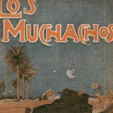 Libros antiguos: LOS MUCHACHOS Nº 127. DOMINGO 16 DE OCTUBRE DE 1916.. Lote 107605755