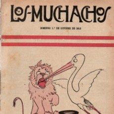 Libros antiguos: LOS MUCHACHOS. SEMANARIO CON REGALOS Nº 125. DOMINGO 1 DE OCTUBRE DE 1916.. Lote 107606391