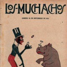Libros antiguos: LOS MUCHACHOS. SEMANARIO CON REGALOS Nº 124. DOMINGO 24 DE SEPTIEMBRE DE 1916.. Lote 107606787