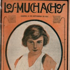 Libros antiguos: LOS MUCHACHOS. SEMANARIO CON REGALOS Nº 122. DOMINGO 10 DE SEPTIEMBRE DE 1916.. Lote 107607415