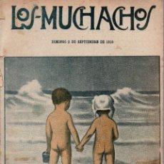 Libros antiguos: LOS MUCHACHOS. SEMANARIO CON REGALOS Nº 121. DOMINGO 3 DE SEPTIEMBRE DE 1916.. Lote 107607631