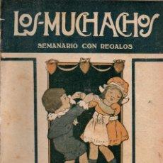 Libros antiguos: LOS MUCHACHOS. SEMANARIO CON REGALOS Nº 119. DOMINGO 20 DE AGOSTO DE 1916.. Lote 107608119